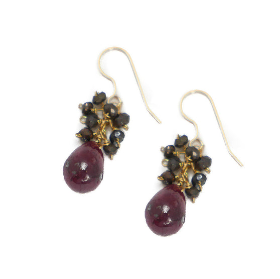 Denise Earring, Ruby