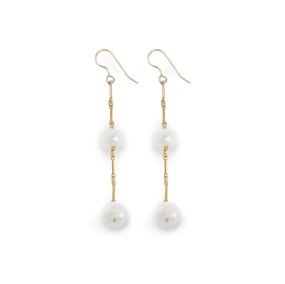 Marsha Earring, Moonstone