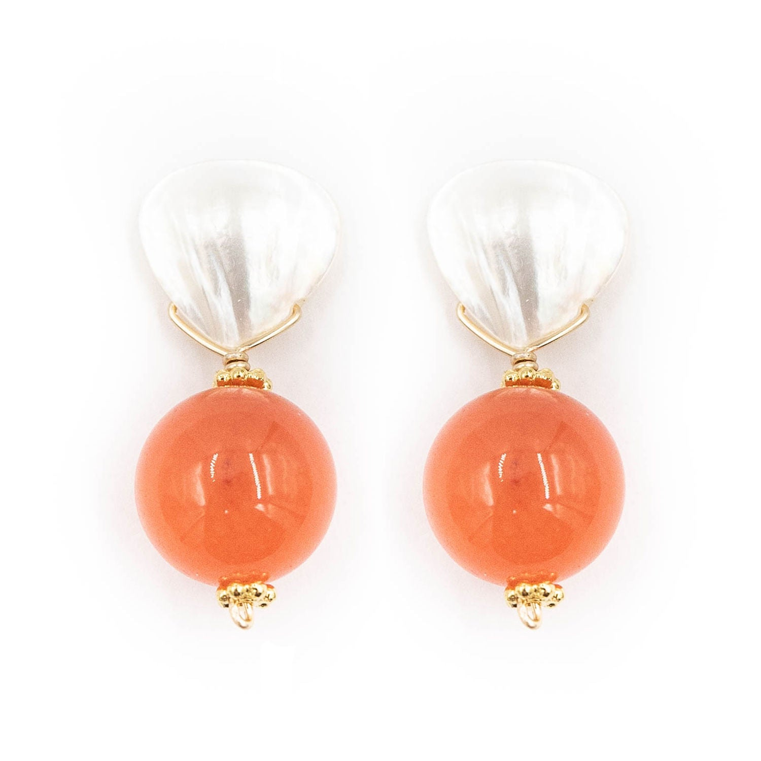 Claire Earring, Sherbet