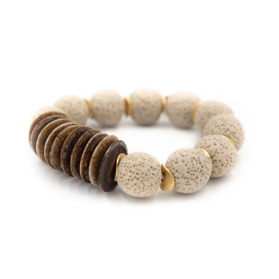 Athens Bracelet, Taupe