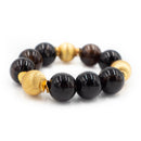 Addison Bracelet, Brown Agate