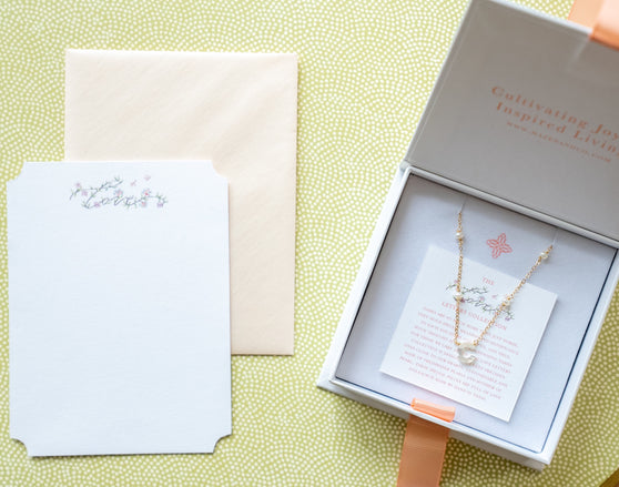 Love Letters Necklace Packaging