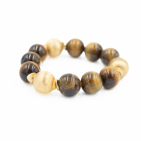 Addison Bracelet, Tiger Eye