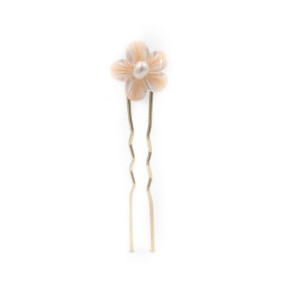 Emmaline Hair Pin Trio, Rose