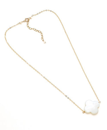 Faye Necklace, Gold