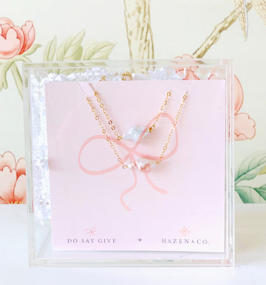 Hazen + Do Say Give Bracelet and Necklace Box Set