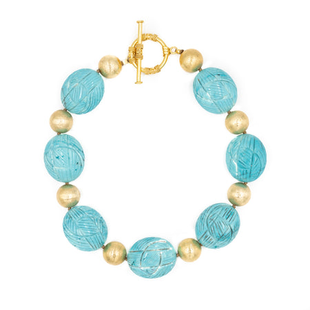 Isabelle Necklace, Turquoise