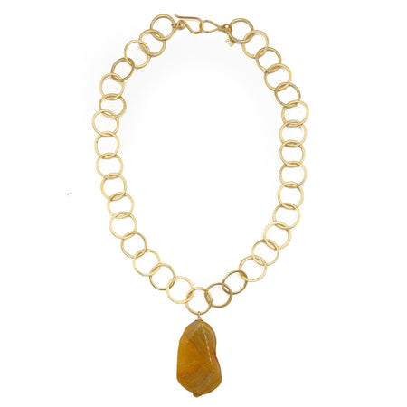Leslie Necklace, Agate