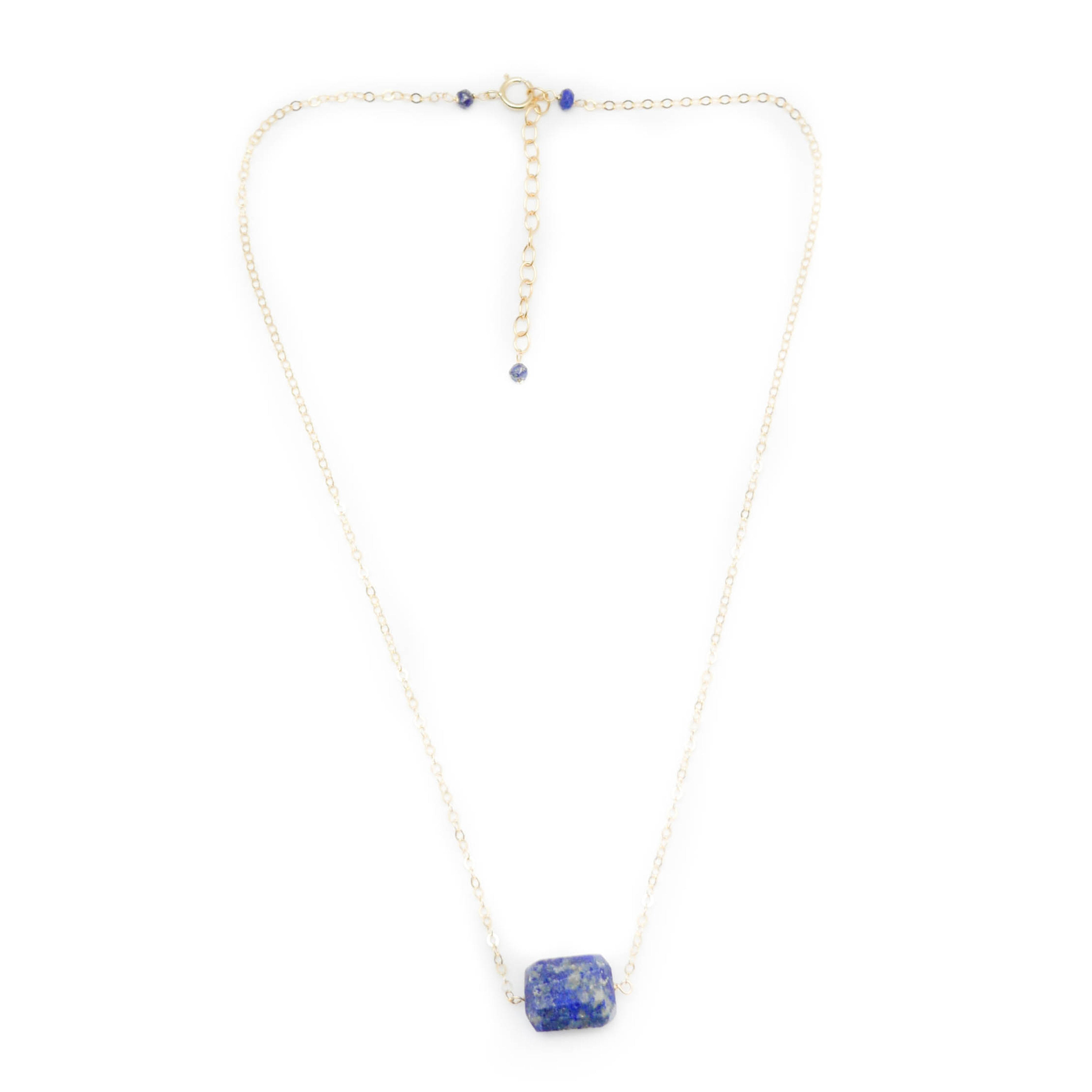 Venice Necklace, Lapis