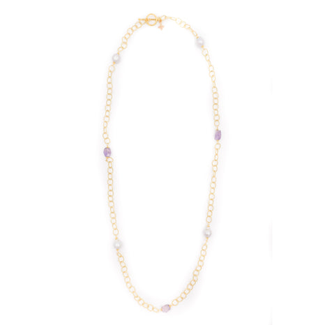 Hartford Necklace, Amethyst