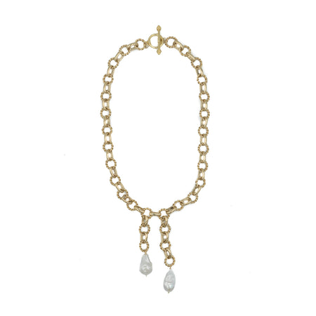 Monarch Necklace, Pearl