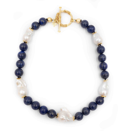 Annabelle Necklace, Lapis