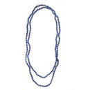 Knotted Lapis Necklace