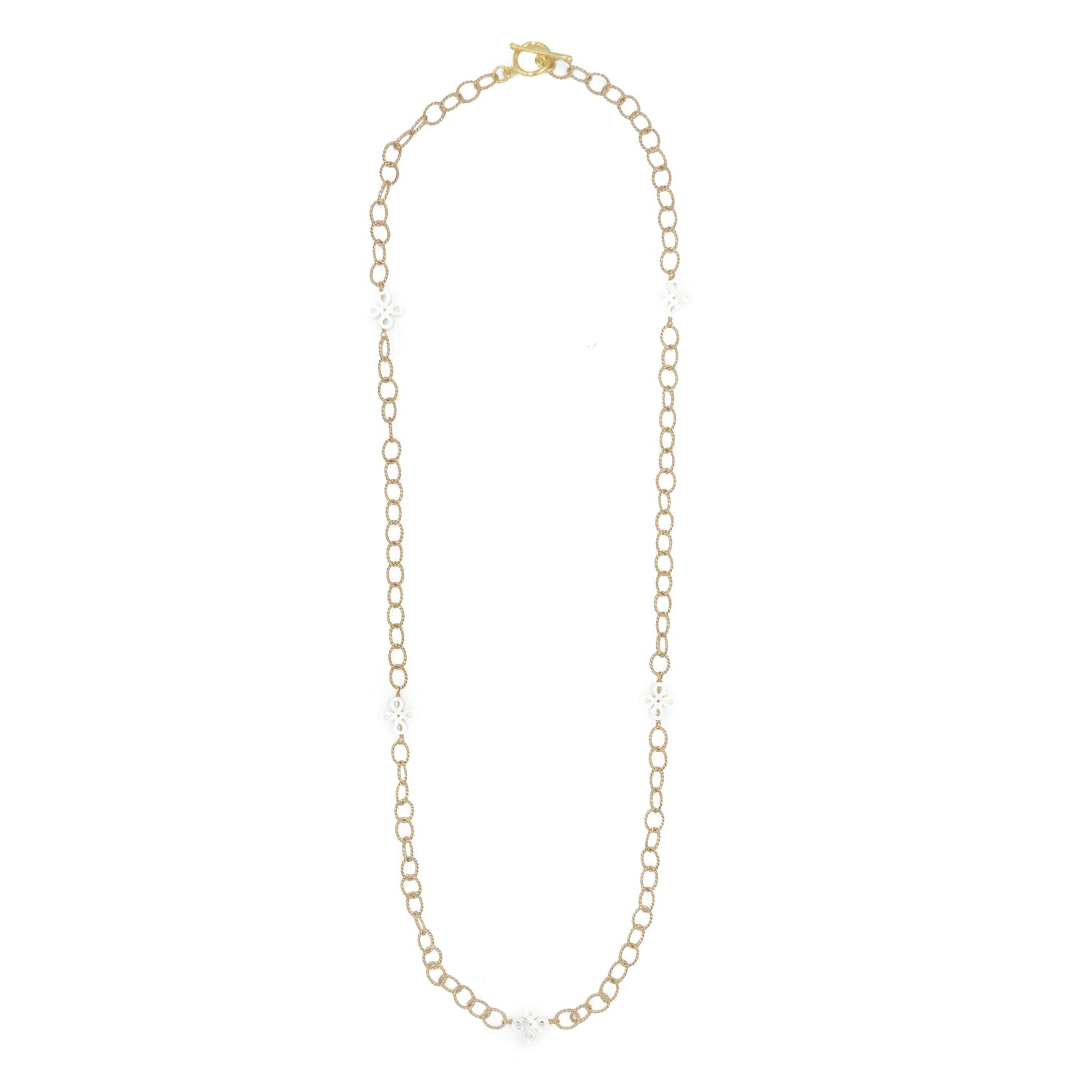 Carnation Necklace, Long