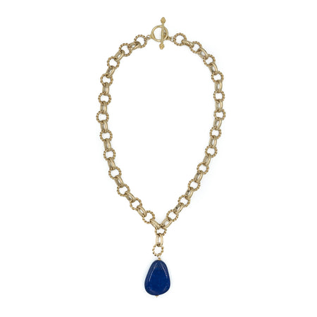 Holly Necklace, Lapis