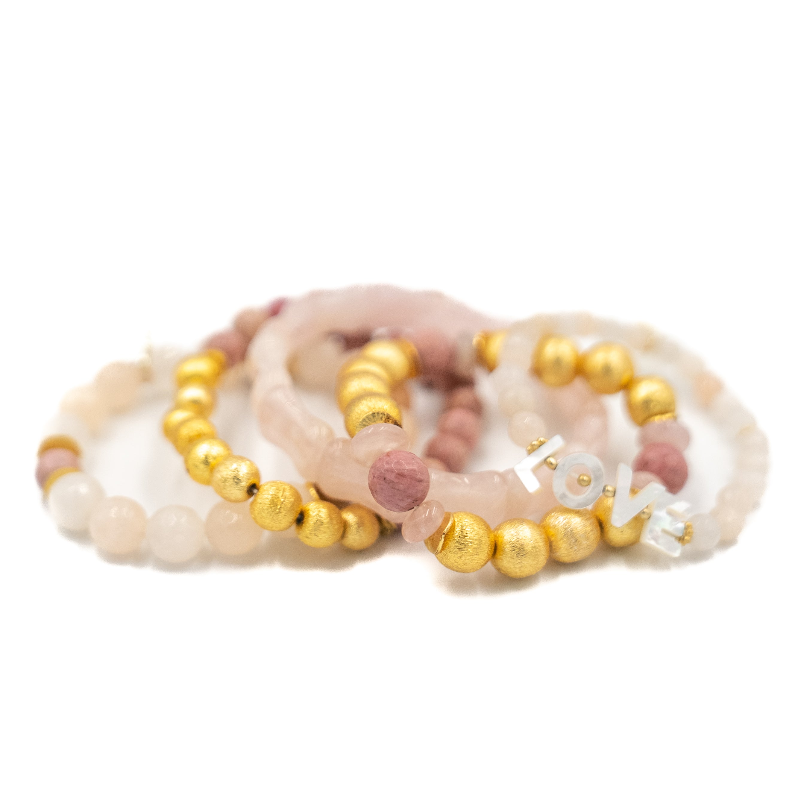 Sue Sartor Spread the LOVE Bracelet Stack