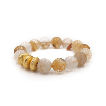 Sheldon Bracelet, Yellow Quartz