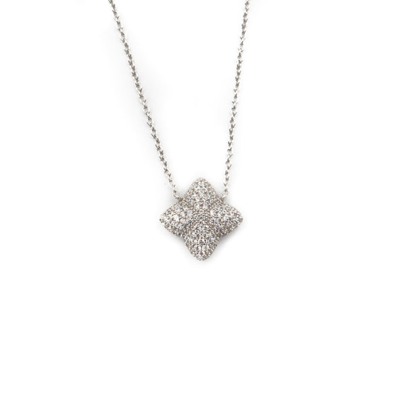 Alicia Necklace, Silver