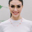Miriam Necklace, Orange