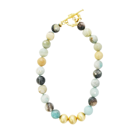 Collier Necklace, Watercolor Agate