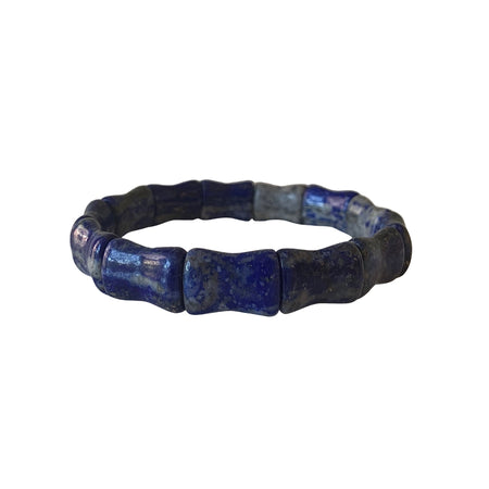 Lapis Bamboo Bangle Hazen