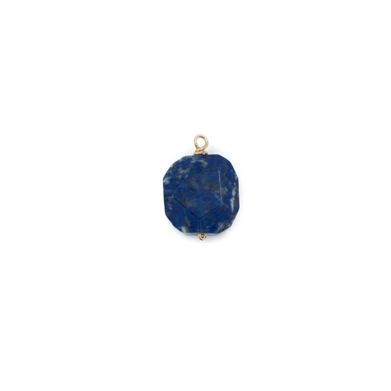 Alicia Necklace Charm, Lapis