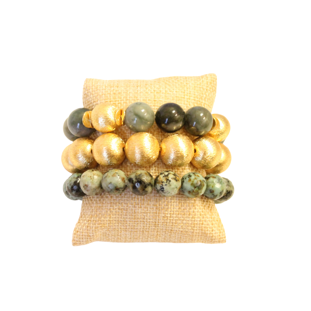 Boxwood Bracelet Stack