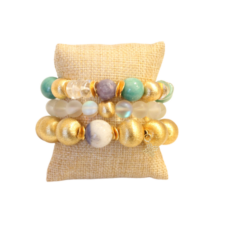 Jingle Bell Bracelet Stack
