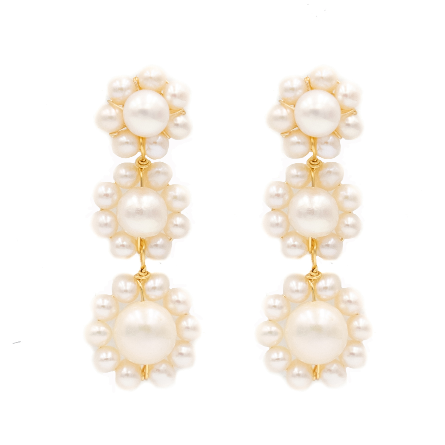 Marie Earring, Triple