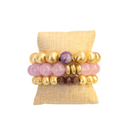 Sugar Plum Bracelet Stack