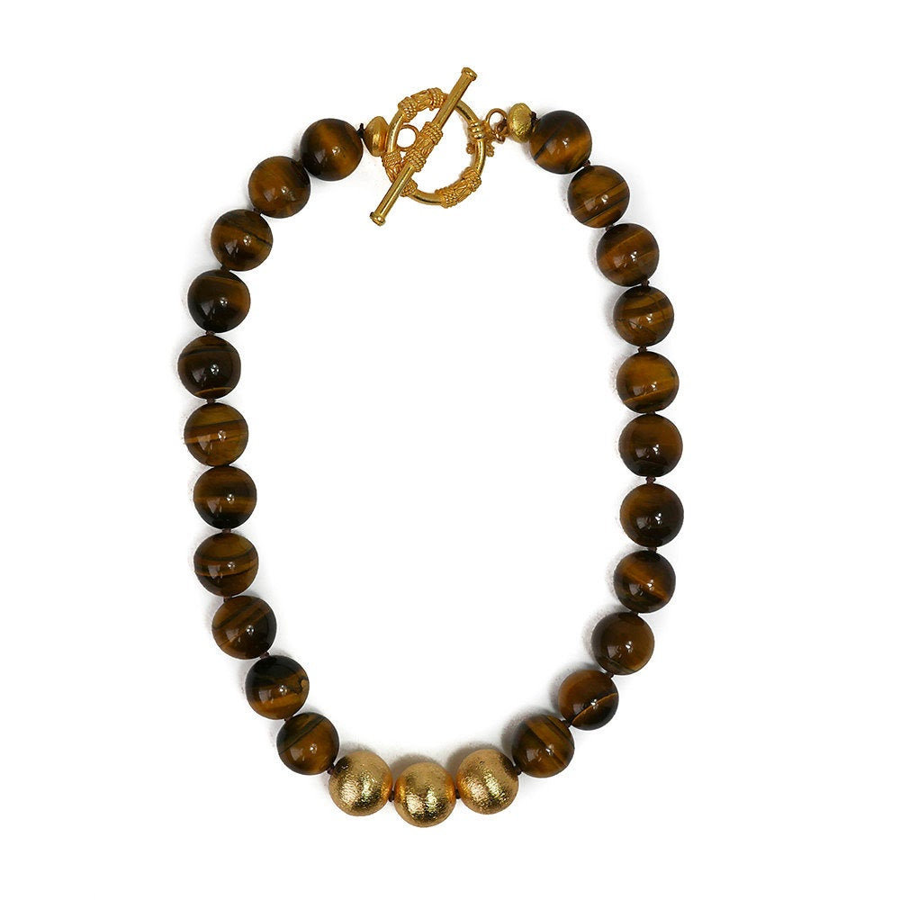Collier Necklace, Tigers Eye