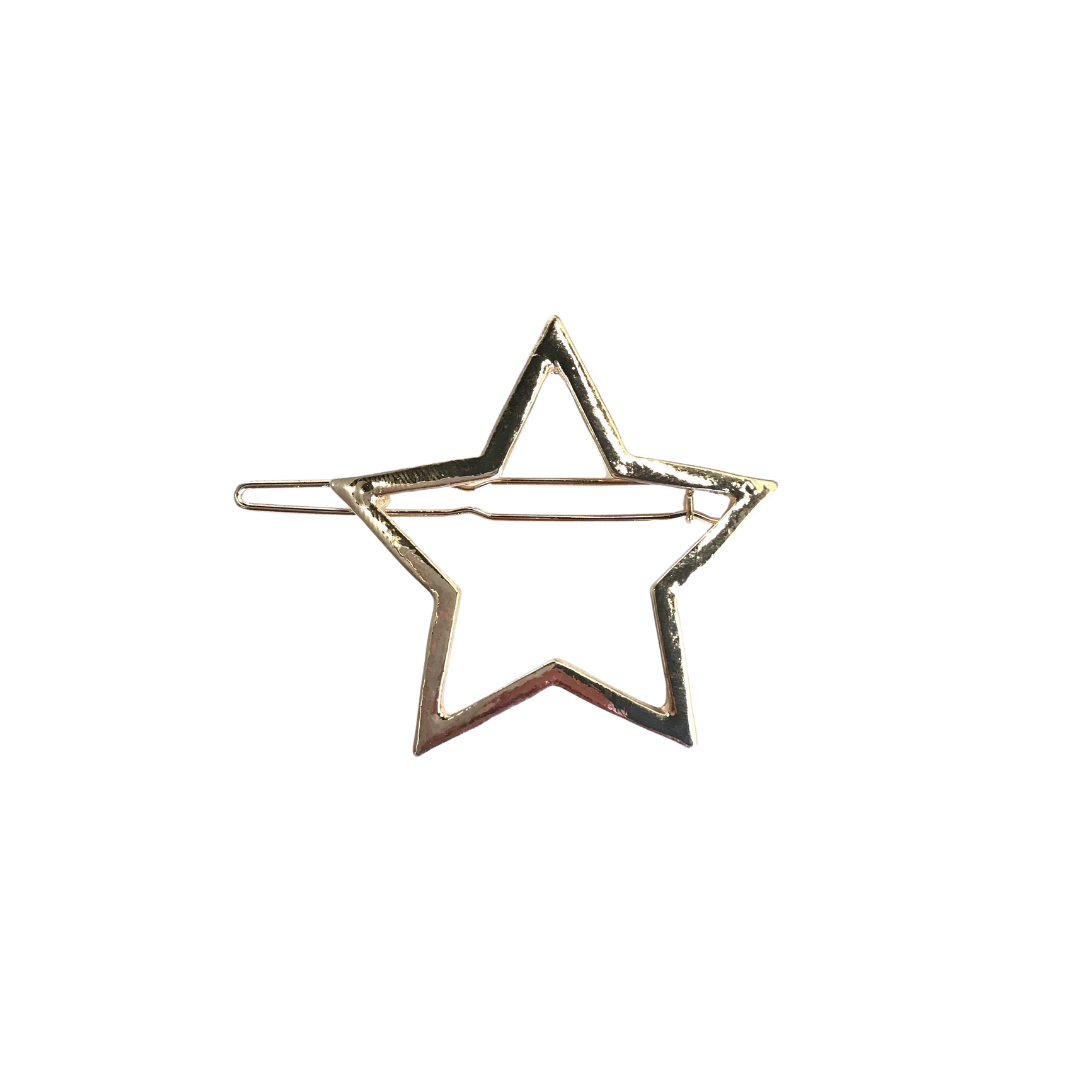 Star Barrette, Gold
