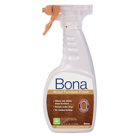 SJ357 Bona Wood Furniture Polish 16 Oz