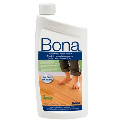 SJ305 Bona 32oz Hardwood Floor Polish High Gloss
