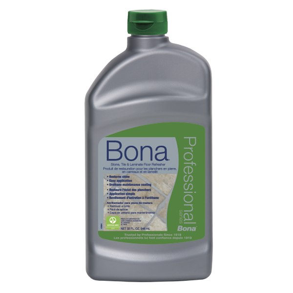 SJ317 Bona Pro Series 32oz Stone, Tile, & Laminate Refresher *covers approx. 500 square feet*