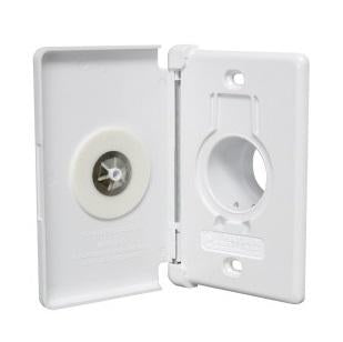 015253 -Central Vacuum Inlet Side Door White