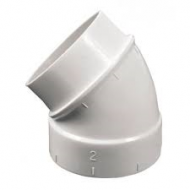 030132-45 Degree Elbow W/ Spigot