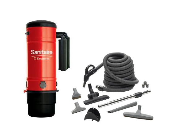 Sanitaire Model SC3500A W/ Deluxe Air Cleaning Kit 30'
