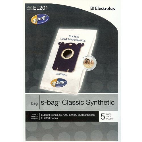 Electrolux Classic S Bag Synthetic (5/pKg)- EL201