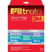 68722- Eureka Synthetic Central Vacuum Bags 3/pk CV2