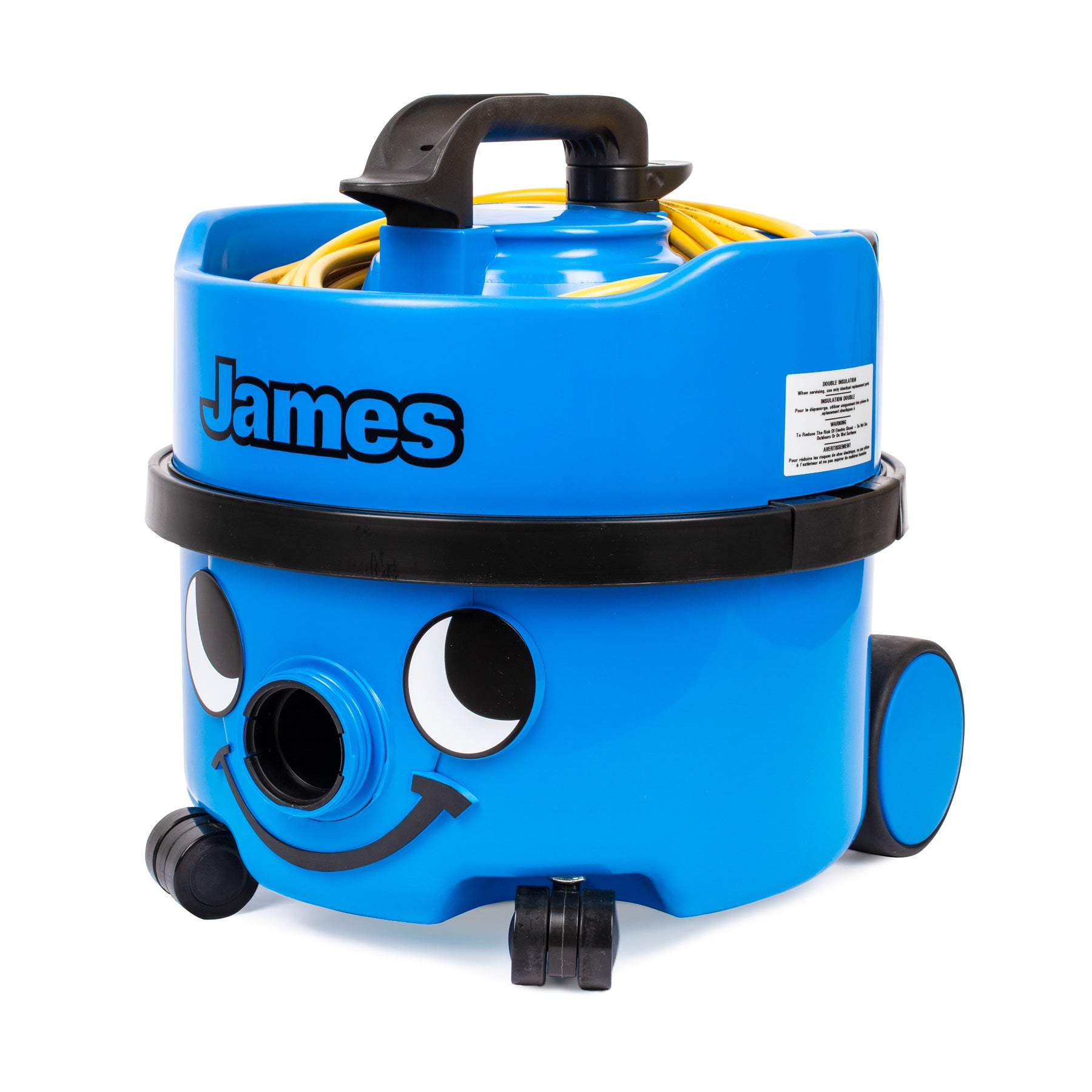 NC-PSP180 NUMATIC James Canister Vacuum with 90 CFM Sky Blue Single Speed