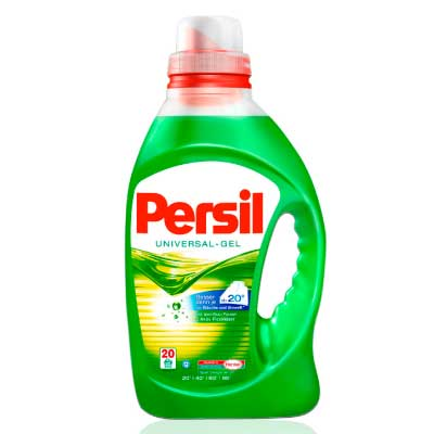 SJ980 Persil Gel Universal 20WL Henkel Laundry Detergent 20 Wash Load Size *Product of Germany