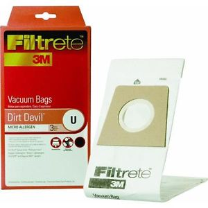 Dirt Devil U Antimicrobial Vacuum Bag-65703