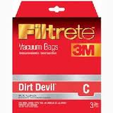 Dirt Devil C Micro Allergen Vacuum Bag-65700