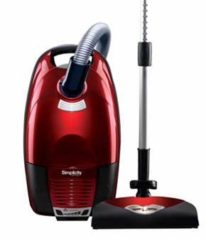 Simplicity Verve Canister Vacuum
