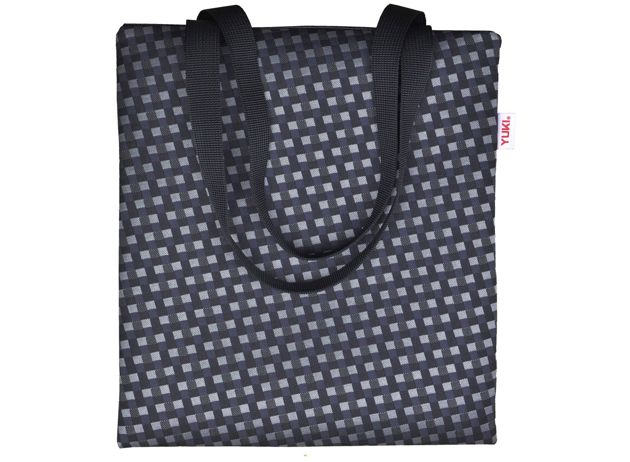 SKE tote bag made of surplus car upholstery fabric - YUKI bags