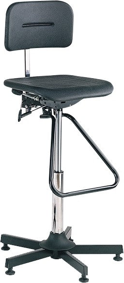 Bott Vinyl High 580-800mm High Work Chair with Footrest - 88601007