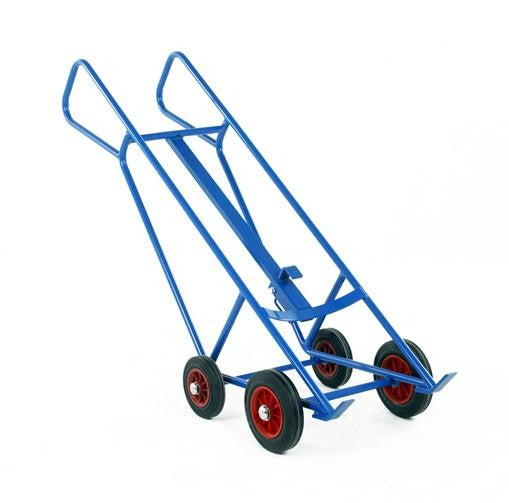 Work Gear Pallet Loading Drum Truck with Bar Handles - DT60