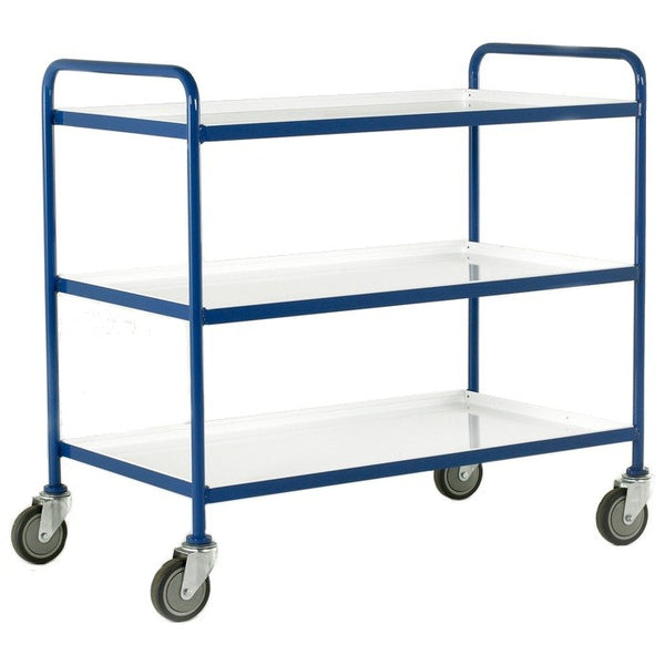 Three Tier Tray Trolleys - TT63 - TT65