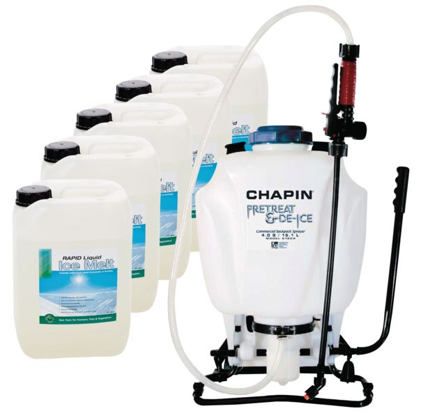 Liquid Ice Melt and Knapsack Sprayer Kits - WINTER6 - WINTER7